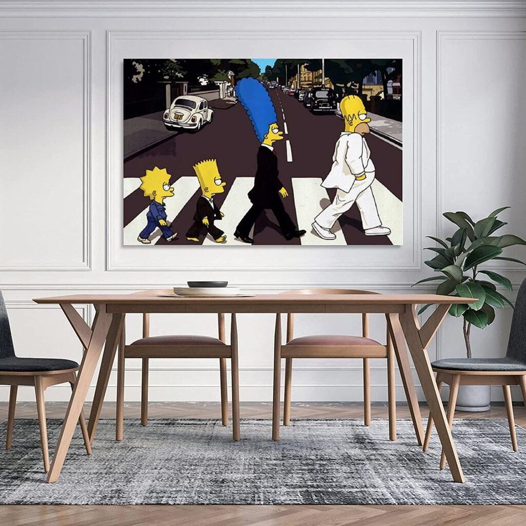 Poster gigante Simpson