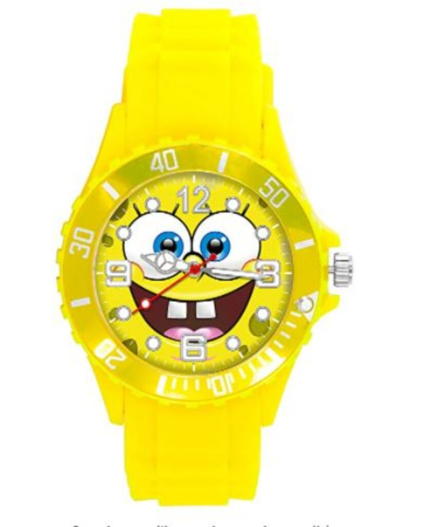 Orologio tema Spongebob