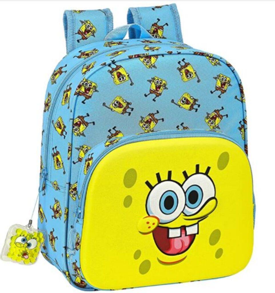 Zaino scuola Spongebob