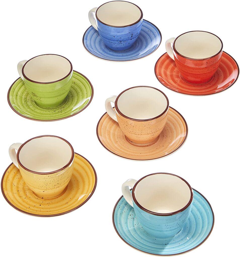 Set di bicchierini per caffè