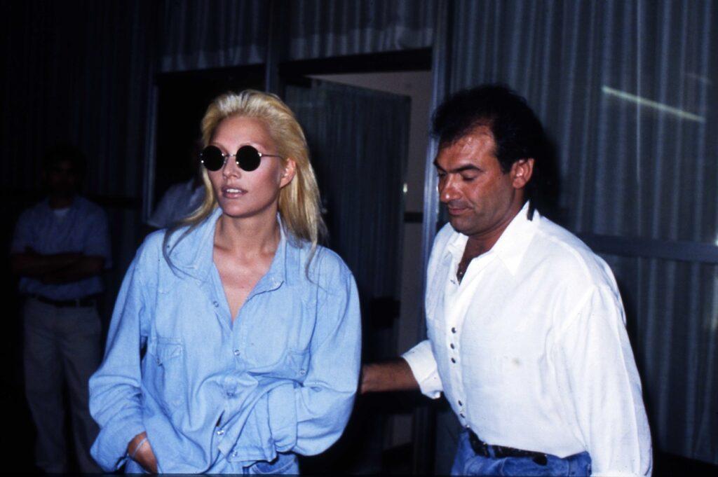 Anna Oxa e l'ex marito