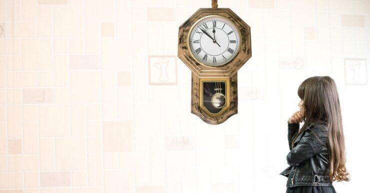 orologio e bambini