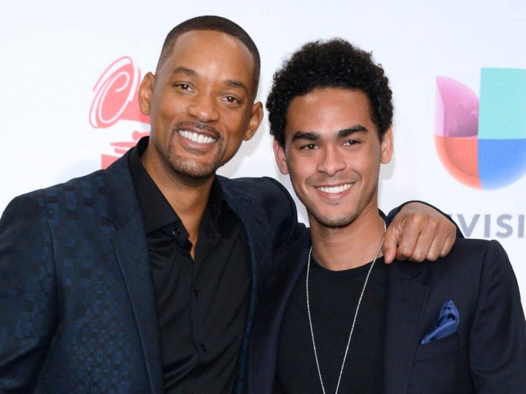 Will Smith e il figlio Trey
